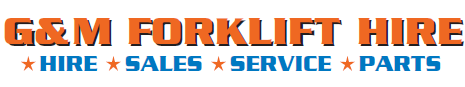 G&M Forklift Hire - Hire, Sales, Service and Parts
